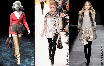 Модные тенденции осенне-зимнего сезона 2009-2010