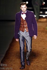 Мужская мода осень зима 2008–2009 модные